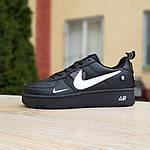 Женские кроссовки Nike Air Force 1 LV8 (черно-белые) 2994, фото 2