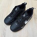 Женские кроссовки Nike Air Force 1 LV8 (черно-белые) 2994, фото 6
