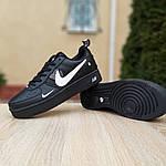 Жіночі кросівки Nike Air Force 1 LV8 (чорно-білі) 2994, фото 7