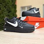 Женские кроссовки Nike Air Force 1 LV8 (черно-белые) 2994, фото 5