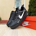 Женские кроссовки Nike Air Force 1 LV8 (черно-белые) 2994, фото 8