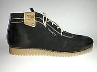 Кожаные мужские удобные стильные черные зимние ботинки 40р Eclipse