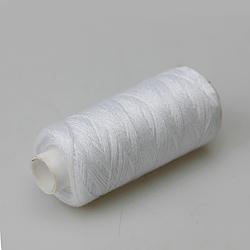 Нитки швейные 40/2 Kiwi 400ярдов, белые