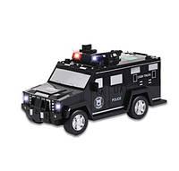 Электронная копилка-сейф с кодовым замком и отпечатком Машинка Hummer