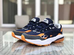 Мужские кроссовки Puma Cell Venom blue/orange. [Размеры в наличии: 41,42,45]