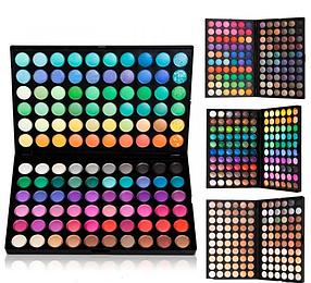 Палітра тіней МАЅ тіні 120 кольорів 4 виду №1,2,3,4 MaS Cosmetics репліка