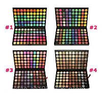 Палитра теней МАС тени 120 цветов 4 вида №1,2,3,4 Mac Cosmetics mac  реплика