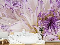 """Флизелиновые Фотообои """"Пестрые цветы (1002365)"""" от производителя за 1 день. Любая картинка и размер. ЭКО-обои"""