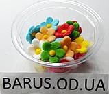 Пасхальное украшение из сахарной  мастики  набор Цветы льна микс, фото 6