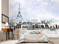 """Флизелиновые Фотообои """"Париж (1002365)"""" от производителя за 1 день. Любая картинка и размер. ЭКО-обои"""