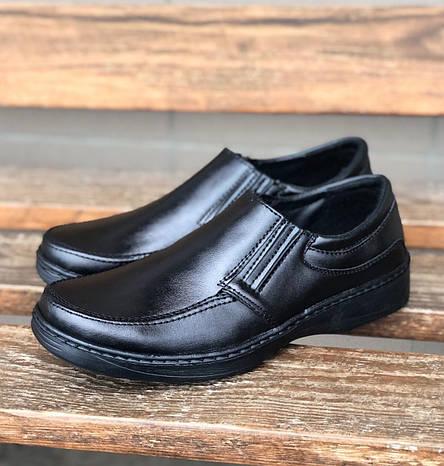 Туфлі мокасини чоловічі класичні фабричні, фото 2