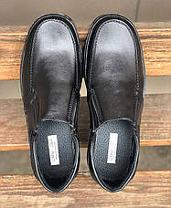 Туфлі мокасини чоловічі класичні фабричні, фото 3