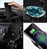 Автомобильный держатель с функцией беспроводной зарядки Xiaomi 70Mai Wireless Car Charger PB01, фото 4