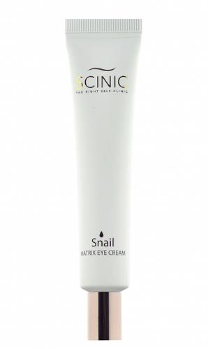 Улиточный крем для век Scinic Snail Matrix Eye Cream
