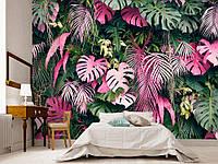 """Флизелиновые Фотообои """"Пальмовые листья (1002365)"""" от производителя за 1 день. Любая картинка и размер. ЭКО-обои"""