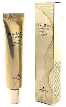 Крем для век The Skin House Real snail eye cream