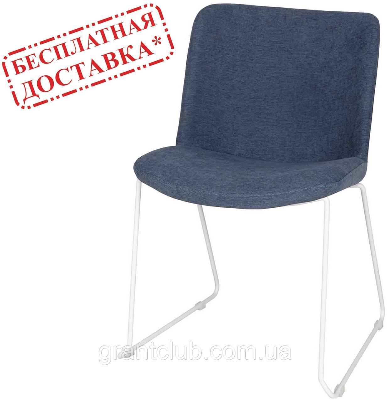 Стул CORSICA (Корсика) текстиль синий джинс Nicolas (бесплатная доставка)