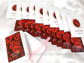Гелевая альгинатная маска с экстрактом розы Lindsay Rose Magic Modeling Gel mask pack
