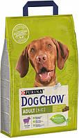 Сухой корм для взрослых собак со вкусом ягненка  Purina Dog Chow Adult Lamb 14кг