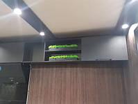 Бетонну кашпо зі стабілізованим мохом, фото 5