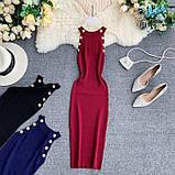 Женское платье голубое, фото 3
