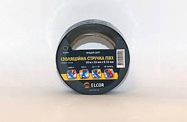 Изолента ПВХ 10м х 15мм х 0,13мм ELCOR черная
