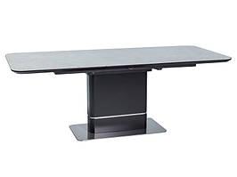 Стол раскладной PALLAS керамика серый,ефект мрамор 160(210)x90 (Signal)