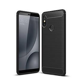 Чехол Carbon для Xiaomi Mi 8 SE бампер оригинальный Black