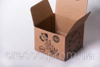 """Коробка """"Кубик маленький"""". Упаковка куб 98*98*74мм."""