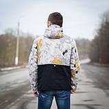 Чоловіча демісезонна куртка  Y.L.Z, комбінована, фото 3