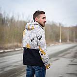 Чоловіча демісезонна куртка  Y.L.Z, комбінована, фото 5