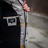 Чоловіча демісезонна куртка  Y.L.Z, комбінована, фото 4