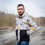 Чоловіча демісезонна куртка  Y.L.Z, комбінована, фото 2