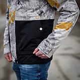 Чоловіча демісезонна куртка  Y.L.Z, комбінована, фото 6