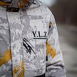 Чоловіча демісезонна куртка  Y.L.Z, комбінована, фото 8