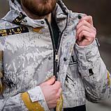 Чоловіча демісезонна куртка  Y.L.Z, комбінована, фото 7