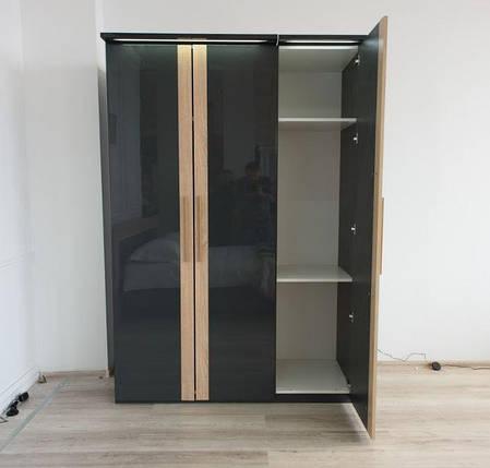 Шкаф 3-ех дверный Капри (Embawood), фото 2