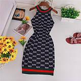 Женское платье черное, фото 3