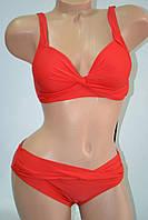 Купальник Fuba.Vi простой купальничек без косточки красный, фото 1