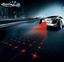 Противотуманний лазер для автомобіля,Стоп сигнал,габаритний ліхтар.Зоряне небо.
