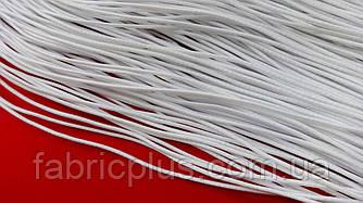 Резинка круглая полиэфирная 1.5 мм белая
