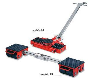 Комплект транспортних візків для важкого обладнання F6, L6 GKS-Perfekt