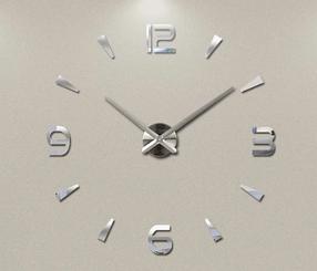 """Часы настенные 3D """"DIY"""" от 60 до 120 см (ZH209-S)"""