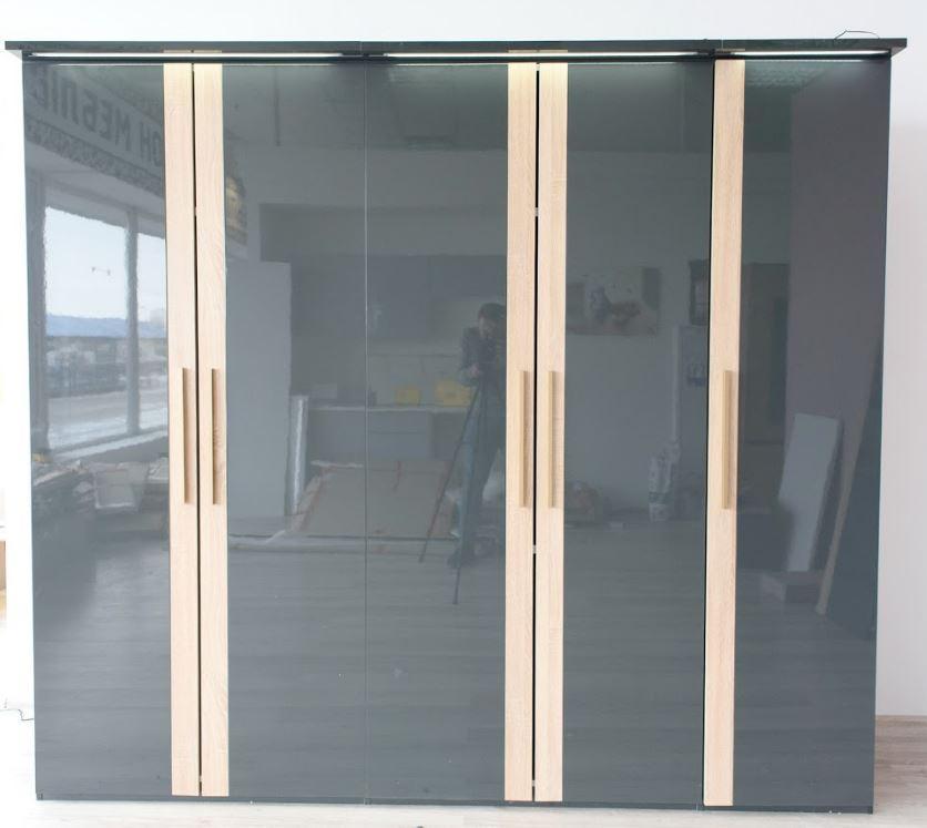 Шкаф 5-ти дверный Капри (Embawood)