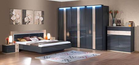 Шкаф 5-ти дверный Капри (Embawood), фото 3
