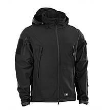 Куртка Soft Shell (M-Tac) чёрная, фото 2