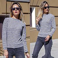 Модный стильный женский свитер тонкий арт 0491