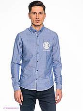Мужская рубашка с длинными рукавами Solid Jerrod в размере L, фото 2
