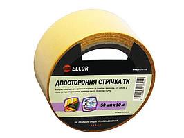 Двусторонняя лента ELCOR TEFB5010 50мм * 10м на тканевой основе