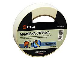 Малярная лента ELCOR TEM2550 25мм * 50м